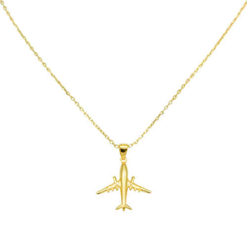 #AIRLINER COLLAR DE ORO